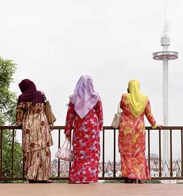 Three Muslim Women Poster