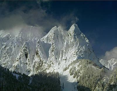 1m4503-three Peaks Of Mt. Index Poster