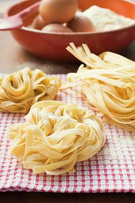 Three Ribbon Pasta Nests Poster