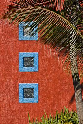 Three Windows Poster by Adam Romanowicz