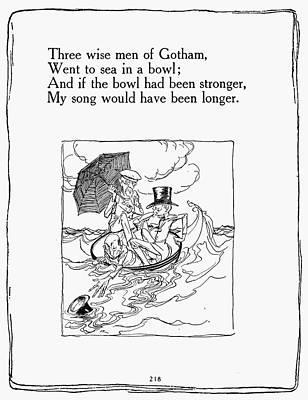 Three Wise Men Of Gotham Poster by Granger