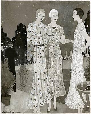 Three Women Outdoors Wears Jay-thorpe Poster