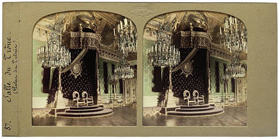 Throne Hall Palais Des Tuileries France, Florent Grau Poster by Artokoloro