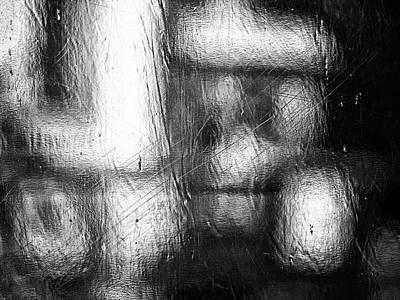 Through The Curtain  Poster by Prakash Ghai