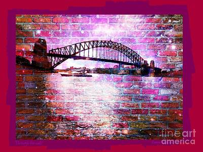 Through The Wall 2 Poster by Leanne Seymour