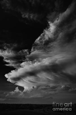 Poster featuring the photograph Thunder Cloud by Karen Slagle