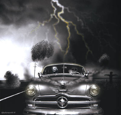 Thunder Road Poster by Larry Butterworth