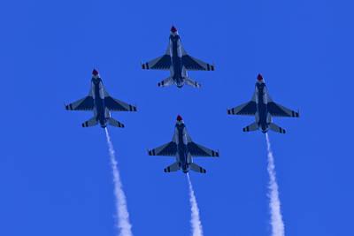 Thunderbirds Diamond Formation Undersides 2 Poster