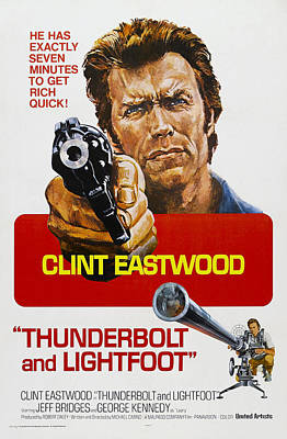 Thunderbolt And Lightfoot, Us Poster Poster