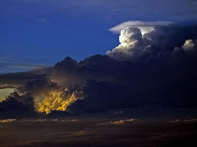 Poster featuring the photograph Thunderstorm II by Greg Reed