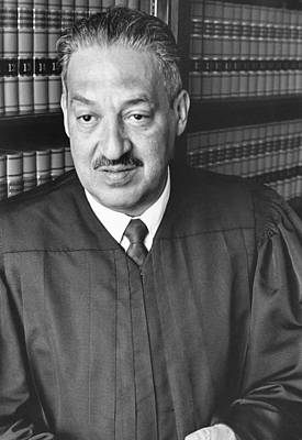 Thurgood Marshall Poster by Rollie McKenna