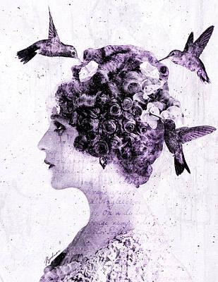Thy Love Like Nectar Poster by Gary Bodnar