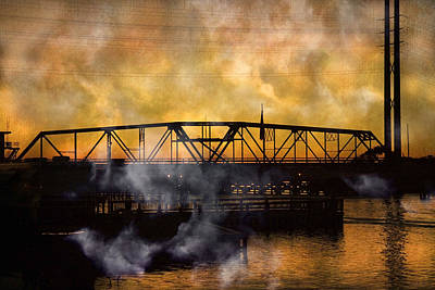 Ti Swing Bridge Ghost Poster by Betsy Knapp