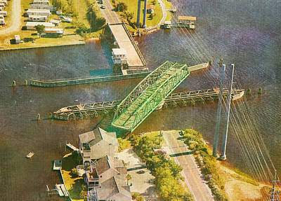 Ti Swingin' Swing Bridge Poster by Betsy Knapp
