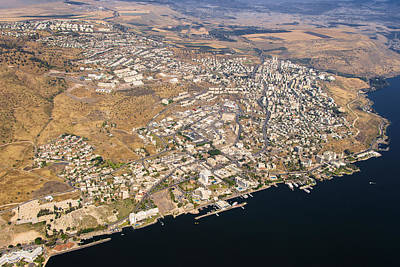 Tiberias, Sea Of Galilee Poster by Ofir Ben Tov