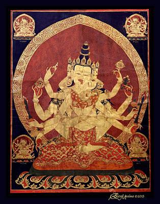 Tibetan Art Poster