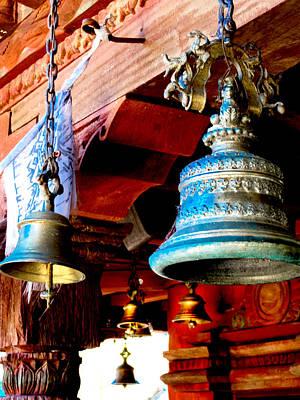 Tibetan Bells Poster by Greg Fortier