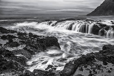 Tidal Flows Poster by Jon Glaser
