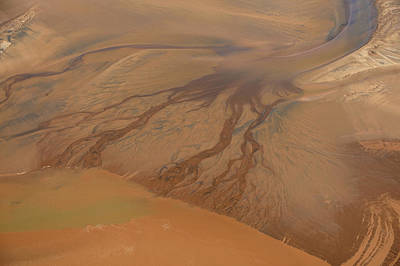 Tidal Wave Coming In Minas Basin, Nova Poster by Bernard Dupuis