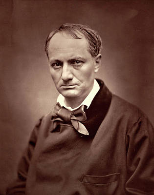 Étienne Carjat, Charles Baudelaire, French Poster