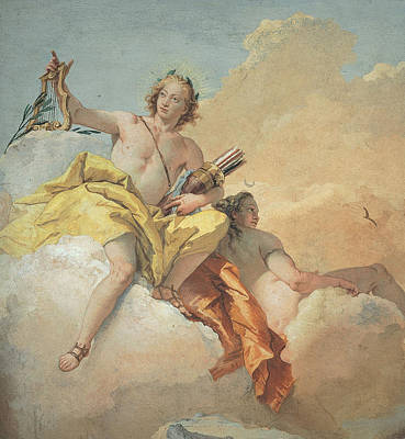 Tiepolo Giambattista, Apollo And Diana Poster by Everett