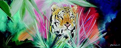 Tiger - As Bold As Love Poster by Grant Netherlands
