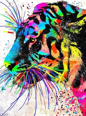 Tiger Grunge Poster
