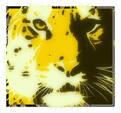 tiger Oranage Poster by Tilly Williams