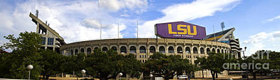 Tiger Stadium Panorama Poster by Scott Pellegrin