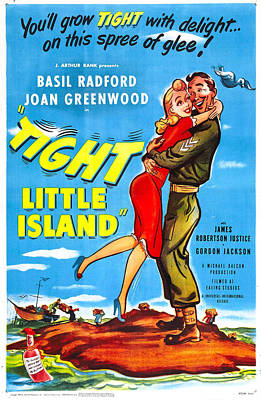 Tight Little Island, Aka Whisky Galore Poster