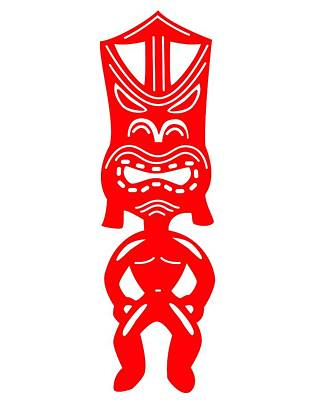 Tiki Poster by Fred Croydon
