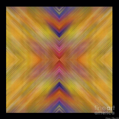 Tiled Abstract Square  I Poster