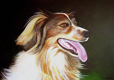 Poster featuring the painting Tillie by Janice Dunbar