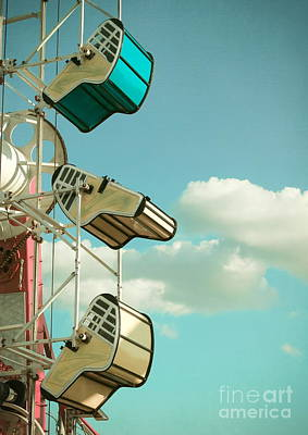 Tilt And Twirl Poster by Colleen Kammerer