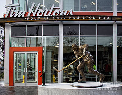 Tim Hortons Museum Poster by Barbara McMahon