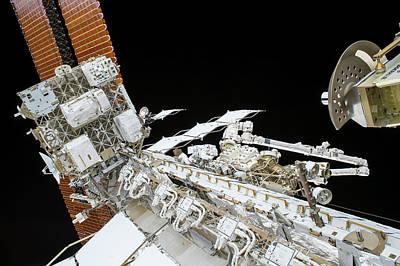 Tim Kopra's Spacewalk Poster