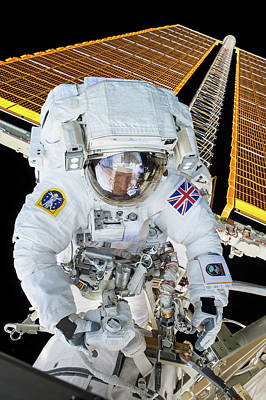 Tim Peake's Spacewalk Poster