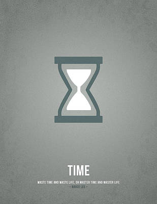 Time Poster by Aged Pixel