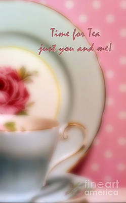 Time For Tea Just You And Me Poster