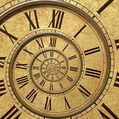 Time Spiral Poster by David Parker