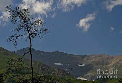 Time Stands Still High Alpine Region Austria Poster