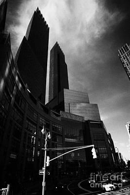 Time Warner Center On Columbus Circle New York City Poster by Joe Fox