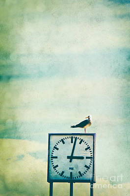 Time Watcher Poster by Angela Doelling AD DESIGN Photo and PhotoArt