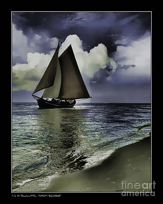 Timeless Sailingboat Poster