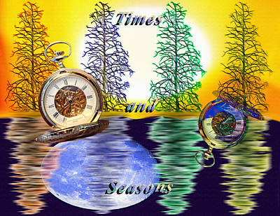 Times And Seasons - Collage Poster by Steve Ohlsen