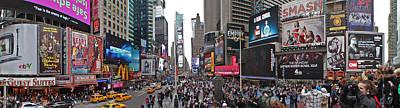 Times Square Poster by Aleksander Rotner
