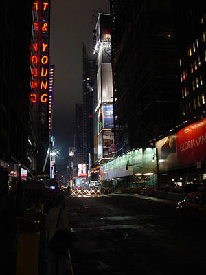 Times Square From 7th Ave Poster
