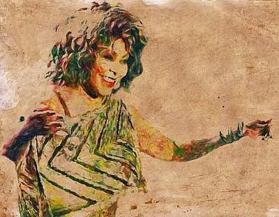 Tina Turner Portrait You Are The Best 2 Poster