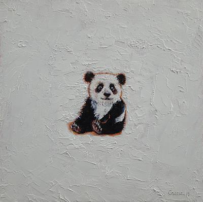 Tiny Panda Poster