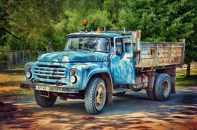 Tipper Truck Poster